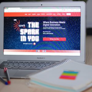 MacBook Air i istraživanje o Spark.me 2017 konferenciji.