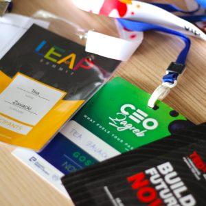 LEAP, CEO i TEDx kotizacije