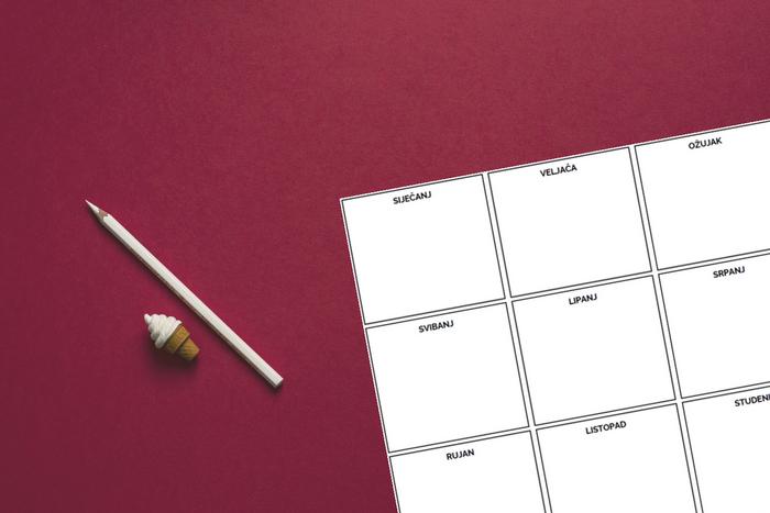 Jednostavna produktivnost - preuzmi besplatni godišnji plan