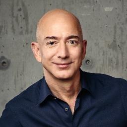 Jeff Bezos, CEO @ Amazon